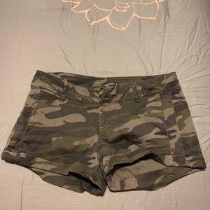 Express Camouflage Shorts